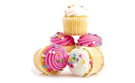 Roztomilé a snadné cupcakes fotografie