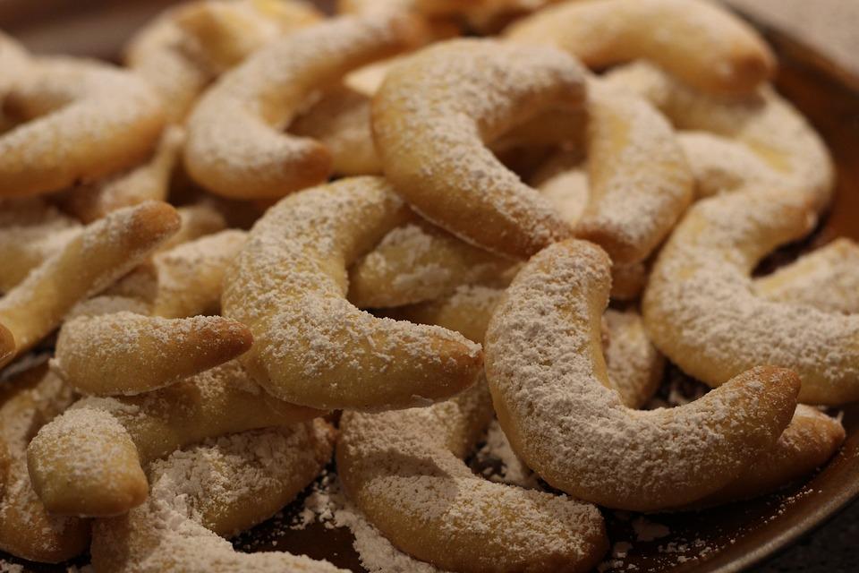 Vanilkové špaldové rohlíčky recept - fotografie