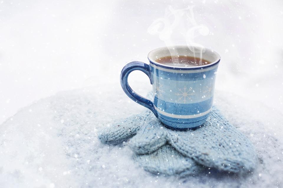 Zimní brusinkový hot drink s rumem - recept - fotografie